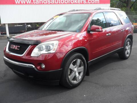 2011 GMC Acadia for sale at T & S Auto Brokers in Colorado Springs CO