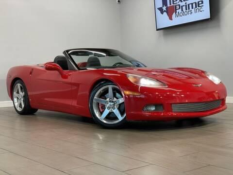 2006 Chevrolet Corvette for sale at Texas Prime Motors in Houston TX