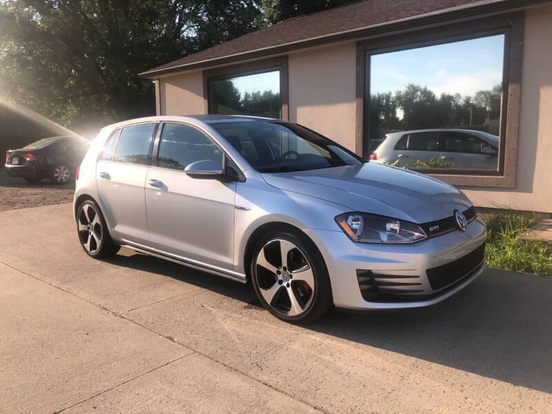 2017 Volkswagen Golf GTI for sale at VITALIYS AUTO SALES in Chicopee MA