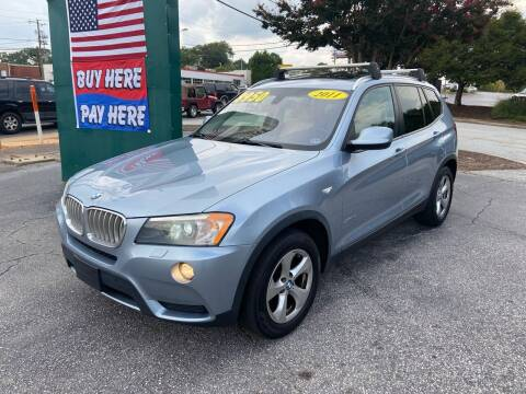 2011 BMW X3 for sale at Import Auto Mall in Greenville SC
