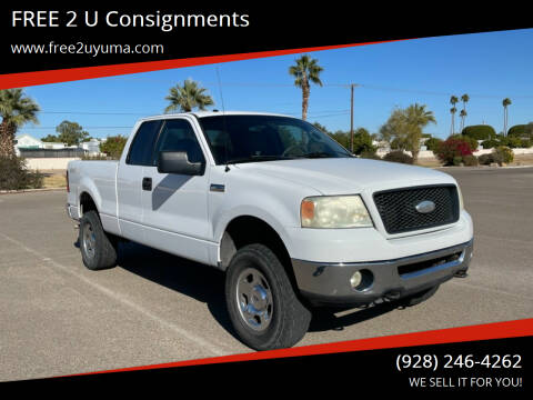 2006 Ford F-150 for sale at FREE 2 U Consignments in Yuma AZ