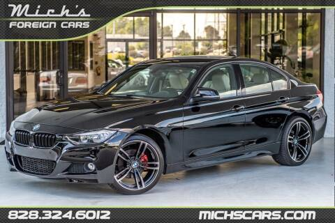 2016 BMW 3 Series for sale at Mich's Foreign Cars in Hickory NC