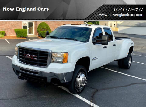 2008 GMC Sierra 3500HD for sale at New England Cars in Attleboro MA