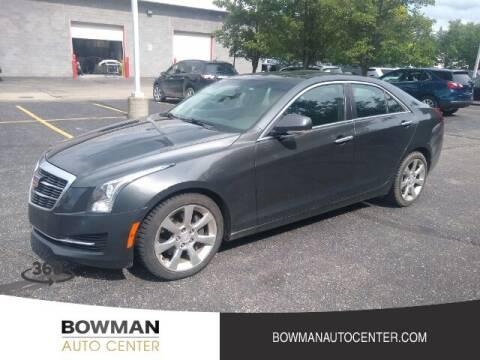 2015 Cadillac ATS for sale at Bowman Auto Center in Clarkston MI