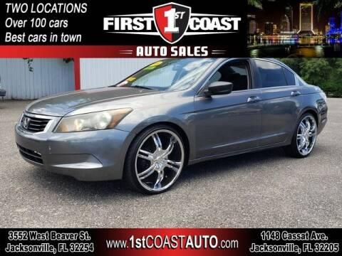 2009 Honda Accord for sale at 1st Coast Auto -Cassat Avenue in Jacksonville FL