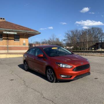 2018 Ford Focus for sale at FIRST CLASS AUTO SALES in Bessemer AL
