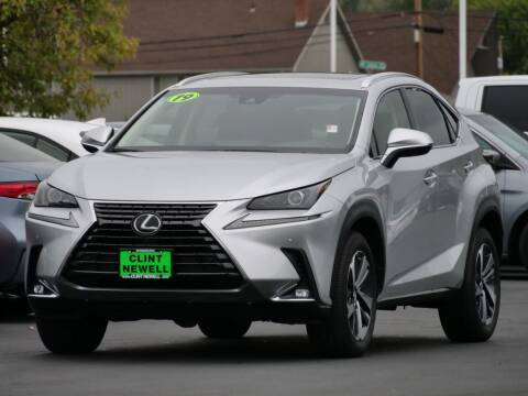 2019 Lexus NX 300 for sale at CLINT NEWELL USED CARS in Roseburg OR