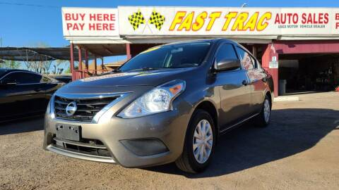 2017 Nissan Versa for sale at Fast Trac Auto Sales in Phoenix AZ