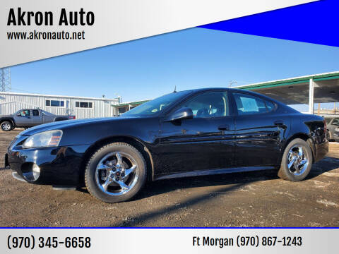 2004 Pontiac Grand Prix for sale at Akron Auto in Akron CO
