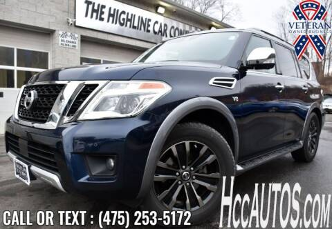 2018 Nissan Armada for sale at The Highline Car Connection in Waterbury CT