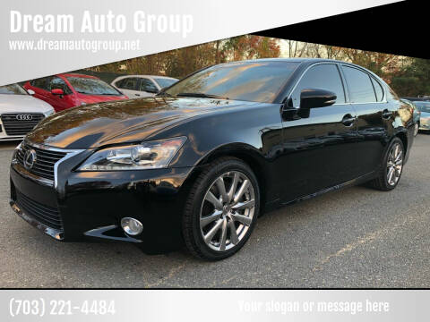 2014 Lexus GS 350 for sale at Dream Auto Group in Dumfries VA