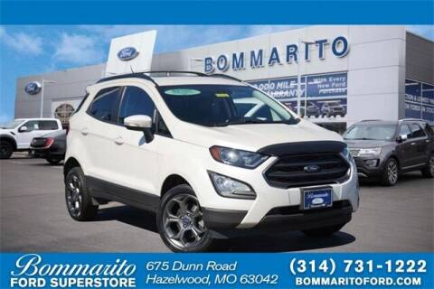 2018 Ford EcoSport for sale at NICK FARACE AT BOMMARITO FORD in Hazelwood MO