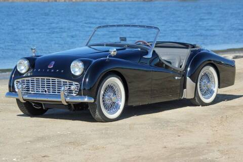 1961 Triumph TR3 for sale at Precious Metals in San Diego CA