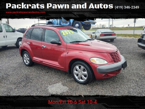 2002 Chrysler PT Cruiser for sale at Packrats Pawn and Autos in Defiance OH