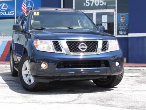 2011 Nissan Pathfinder for sale at VIP AUTO ENTERPRISE INC. in Orlando FL