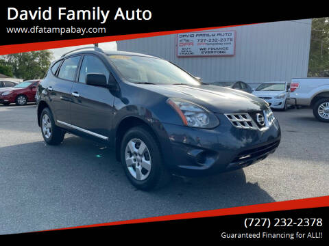 2014 Nissan Rogue Select for sale at David Family Auto in New Port Richey FL