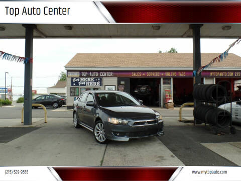 2008 Mitsubishi Lancer for sale at Top Auto Center in Quakertown PA