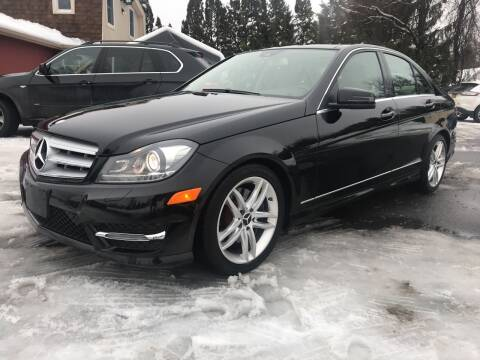 2013 Mercedes-Benz C-Class for sale at R & R Motors in Queensbury NY