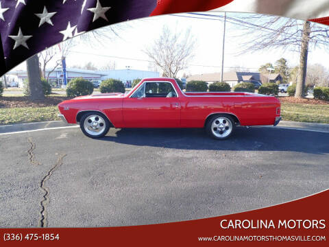 1967 Chevrolet El Camino for sale at CAROLINA MOTORS - Carolina Classics & More-Thomasville in Thomasville NC