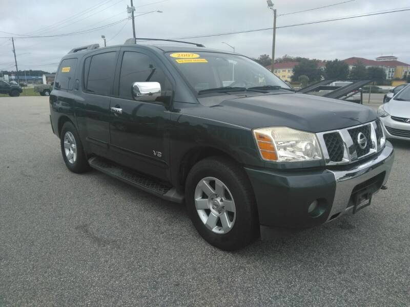 2007 Nissan Armada for sale at Kelly & Kelly Supermarket of Cars in Fayetteville NC