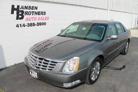 2006 Cadillac DTS for sale at HANSEN BROTHERS AUTO SALES in Milwaukee WI