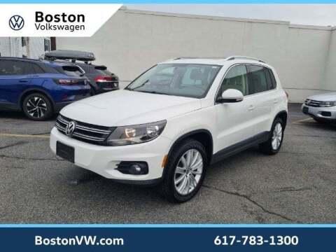 2013 Volkswagen Tiguan for sale at Boston Volkswagen in Watertown MA