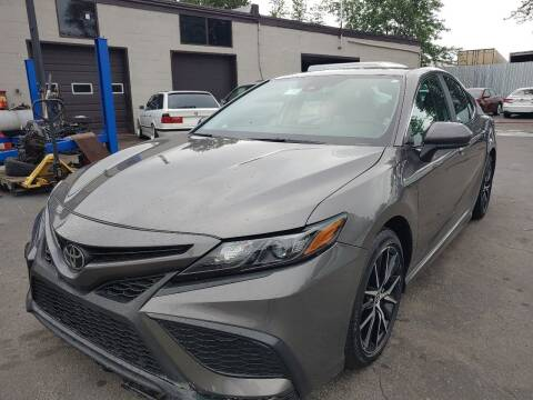 2021 Toyota Camry for sale at Auto Direct Inc in Saddle Brook NJ