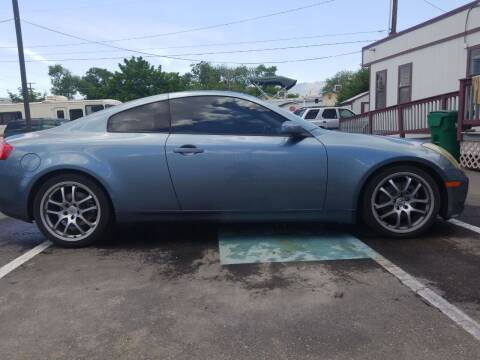 2005 Infiniti G35 for sale at Freds Auto Sales LLC in Carson City NV