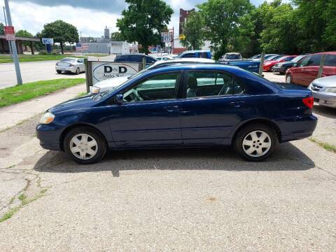 2005 Toyota Corolla for sale at D & D Auto Sales in Topeka KS