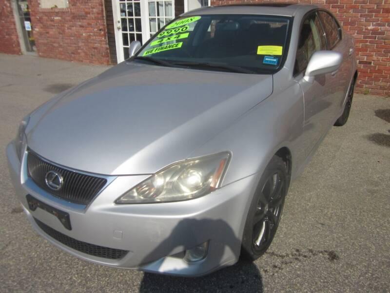 2008 Lexus IS 250 for sale at Tewksbury Used Cars in Tewksbury MA