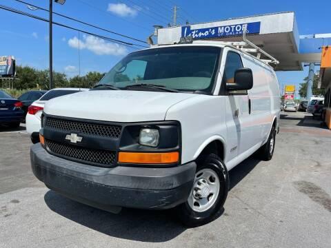 2006 Chevrolet Express Cargo for sale at LATINOS MOTOR OF ORLANDO in Orlando FL