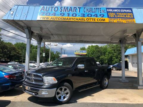 2009 Dodge Ram Pickup 1500 for sale at Auto Smart Charlotte in Charlotte NC