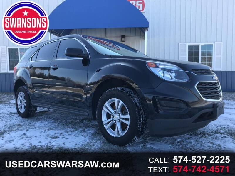 2017 Chevrolet Equinox for sale at Swanson's Cars and Trucks in Warsaw IN