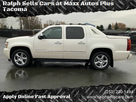 2011 Chevrolet Avalanche for sale at Ralph Sells Cars at Maxx Autos Plus Tacoma in Tacoma WA