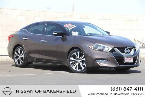 2016 Nissan Maxima for sale at Nissan of Bakersfield in Bakersfield CA