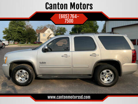 2011 Chevrolet Tahoe for sale at Canton Motors in Canton SD