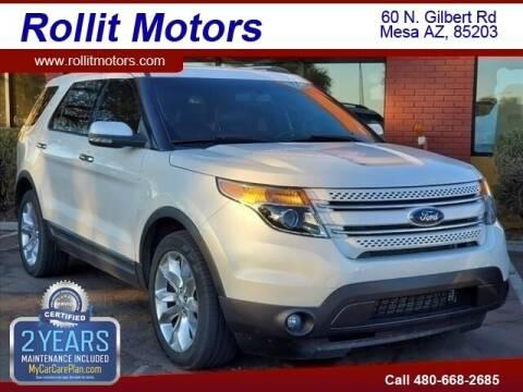 2012 Ford Explorer for sale at Rollit Motors in Mesa AZ