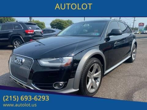 2015 Audi Allroad for sale at AUTOLOT in Bristol PA
