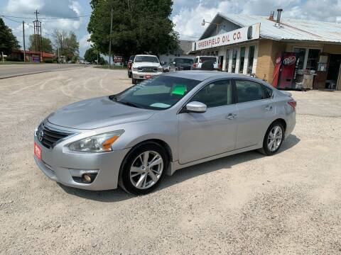 2013 Nissan Altima for sale at GREENFIELD AUTO SALES in Greenfield IA