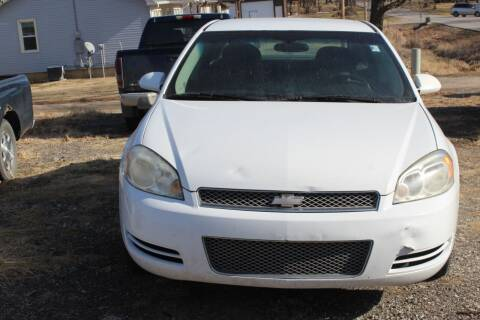 2013 Chevrolet Impala for sale at Bailey & Sons Motor Co in Lyndon KS