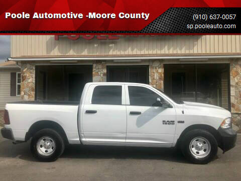 2013 RAM Ram Pickup 1500 for sale at Poole Automotive -Moore County in Aberdeen NC