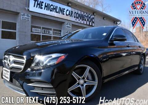 2017 Mercedes-Benz E-Class for sale at The Highline Car Connection in Waterbury CT