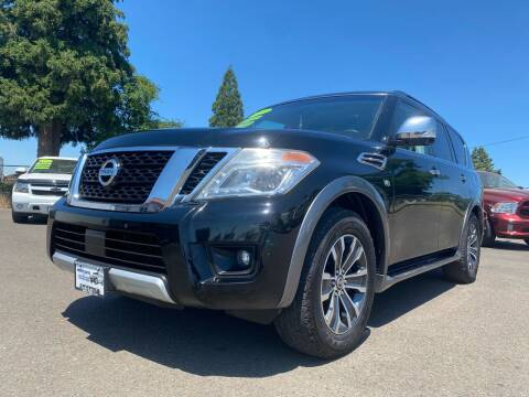 2017 Nissan Armada for sale at Pacific Auto LLC in Woodburn OR
