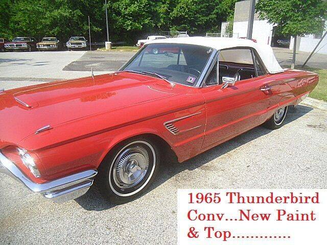1965 Ford Thunderbird for sale at Black Tie Classics in Stratford NJ