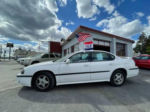 2002 Chevrolet Impala for sale at Direct Auto Sales+ in Spokane Valley WA