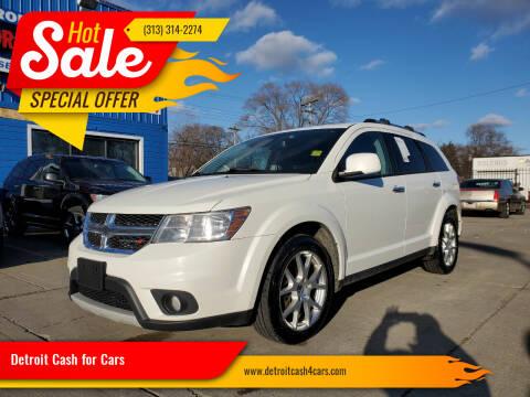 2014 Dodge Journey for sale at Detroit Cash for Cars in Warren MI
