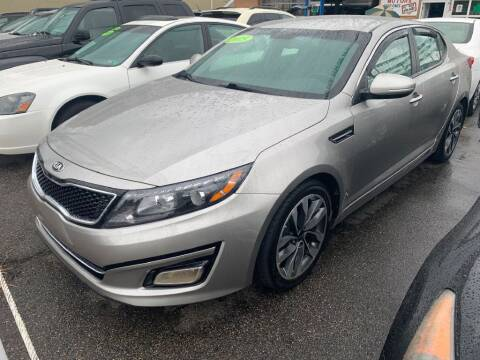 2015 Kia Optima for sale at Park Avenue Auto Lot Inc in Linden NJ