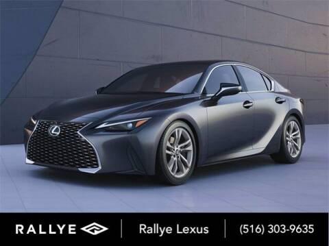 2021 Lexus IS 300 for sale at RALLYE LEXUS in Glen Cove NY