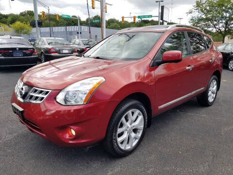2012 Nissan Rogue for sale at Cedar Auto Group LLC in Akron OH
