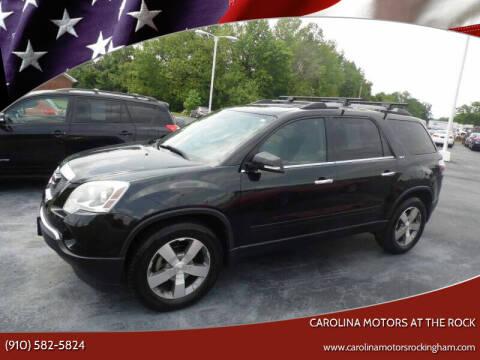 2012 GMC Acadia for sale at Carolina Motors at the Rock in Rockingham NC
